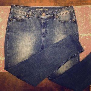 MICHAEL Michael Kors Medium Wash Skinny Jeans